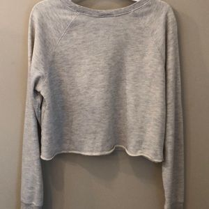 Disney Sweaters - Disney tinker bell cropped long sleeve top, Med